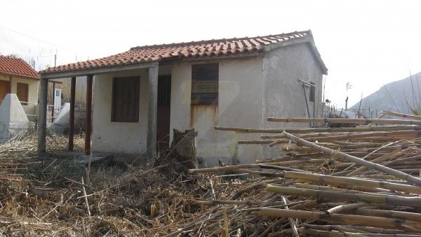 Πωλείται οικόπεδο με κτίσμα στον Κάμπο Αντίσσης Λέσβου.